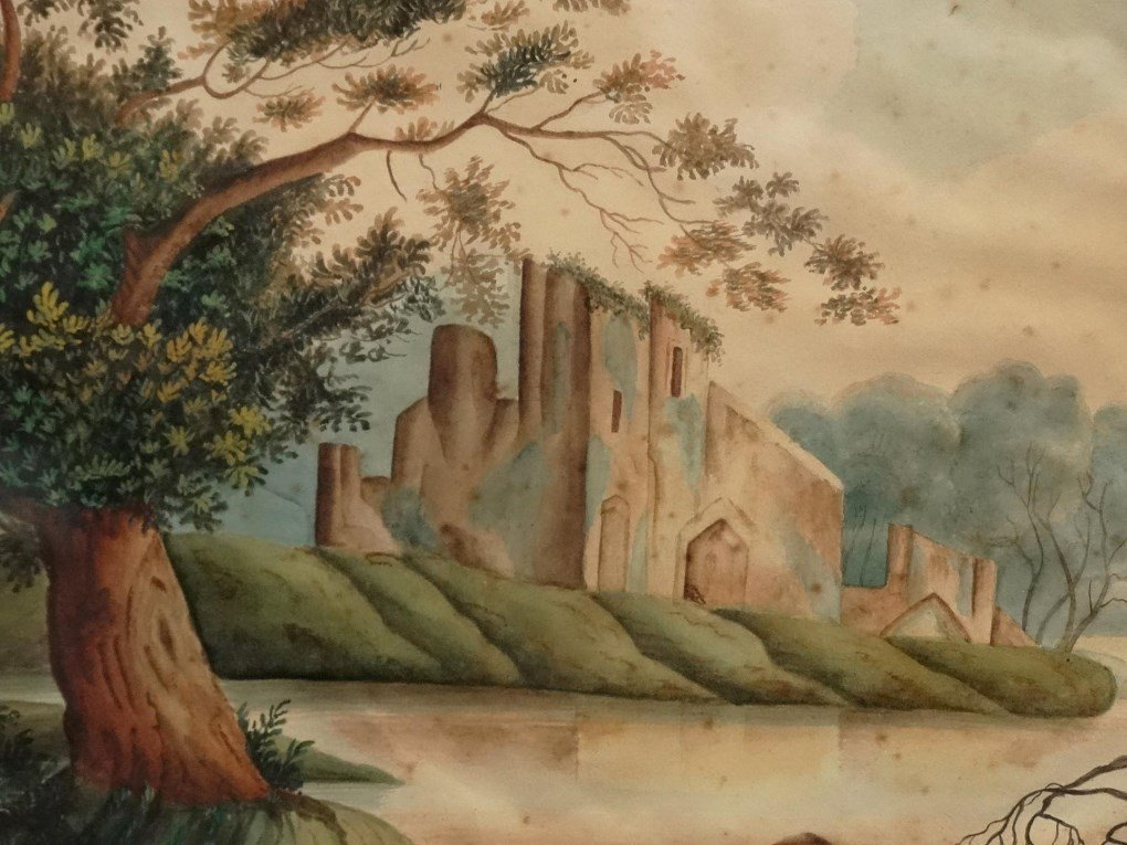 19th c. Hudson Valley Watercolor - 4