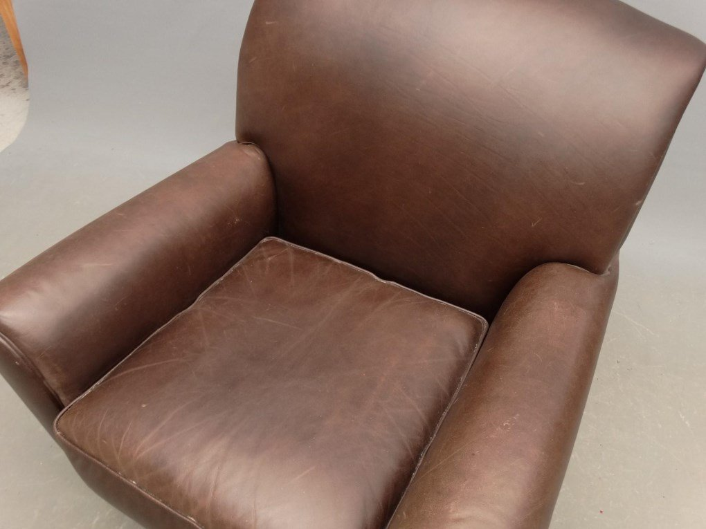 Leather Club Chair - 2