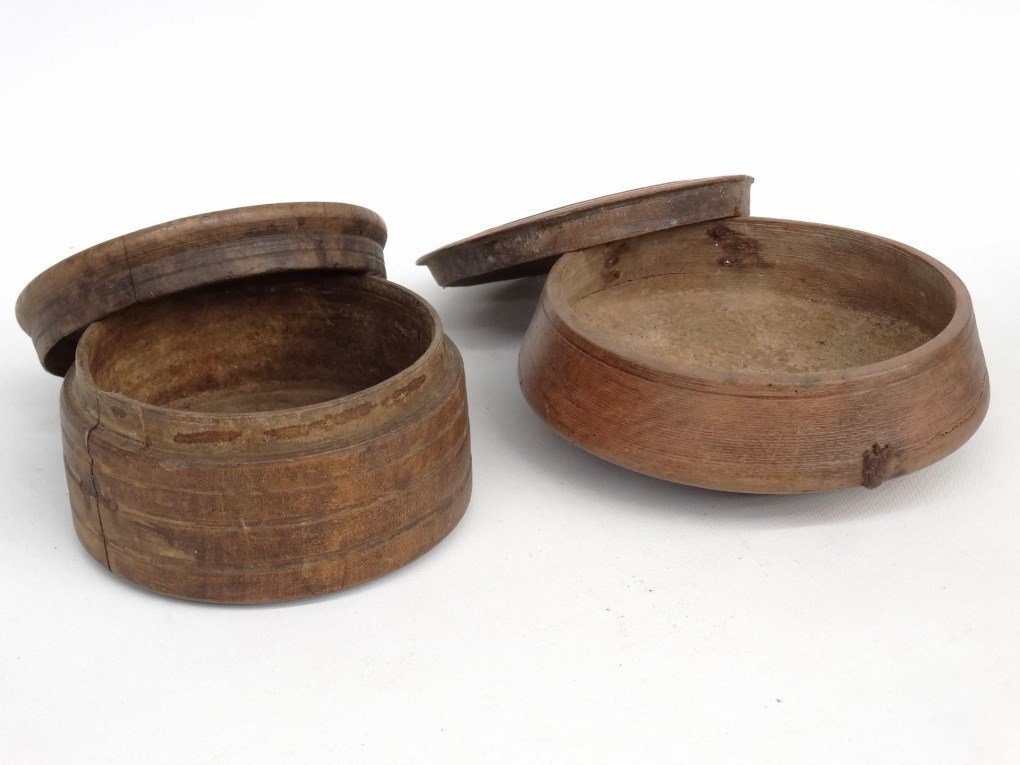 Treen Seed Boxes - 2