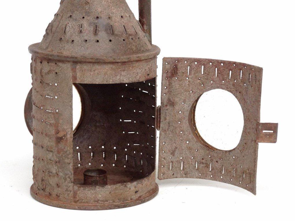 Punched Tin Lantern - 4