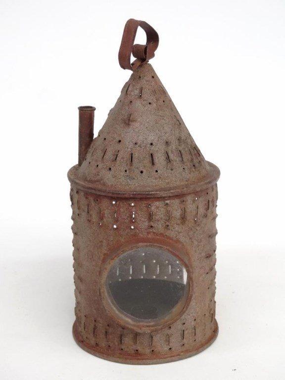 Punched Tin Lantern - 5