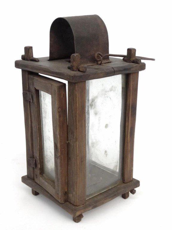 Wooden Lantern - 2