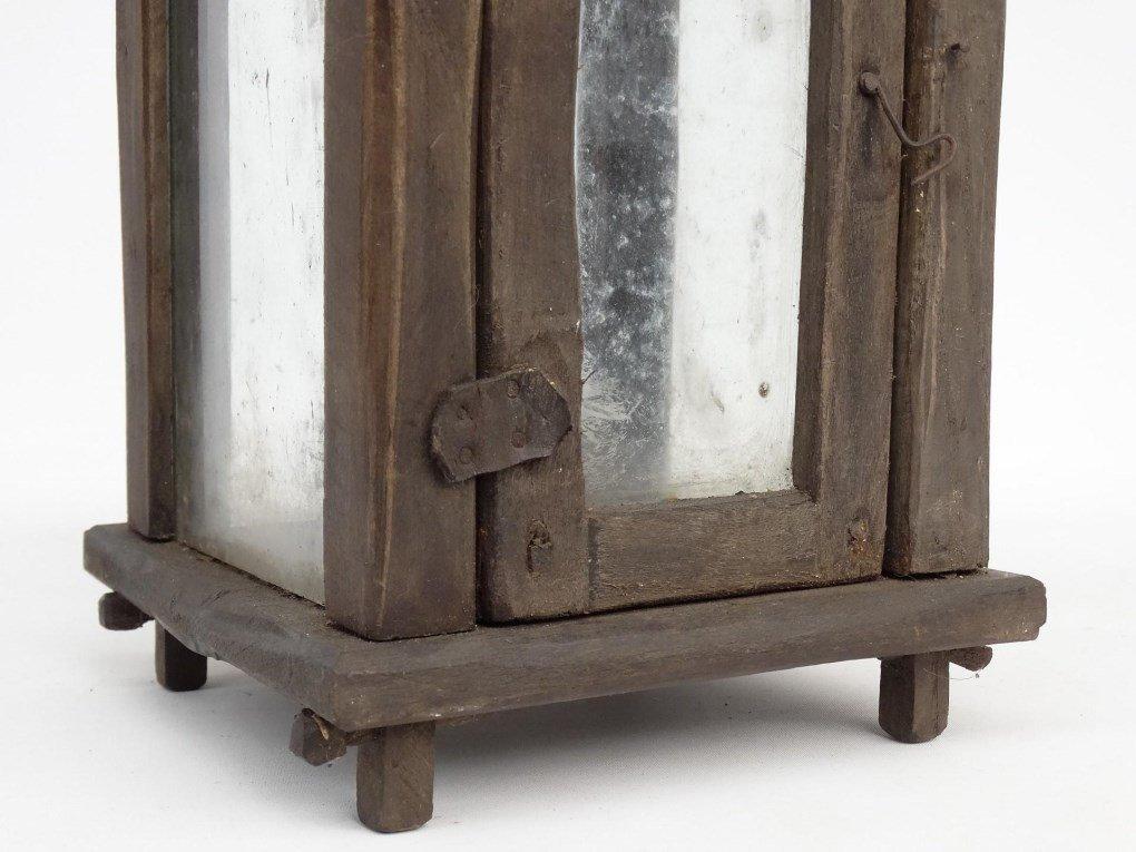 Wooden Lantern - 4