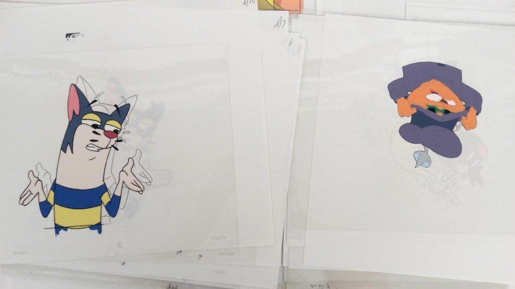 Cartoon Art Cells - 8