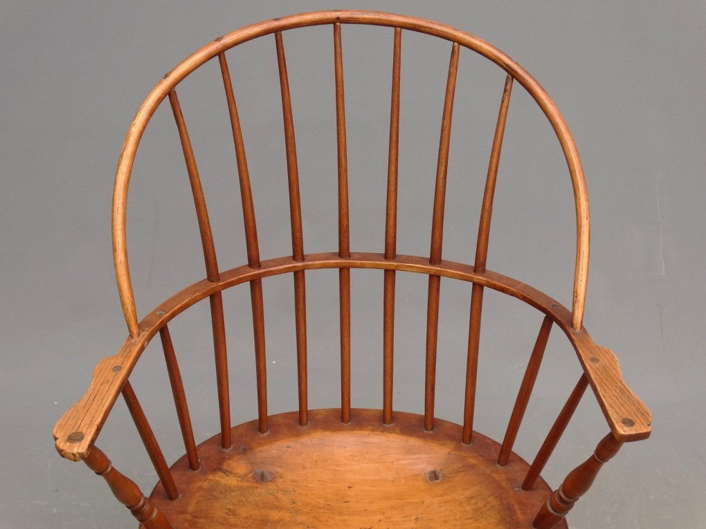 19th c. Windsor Rocking Chair - 2