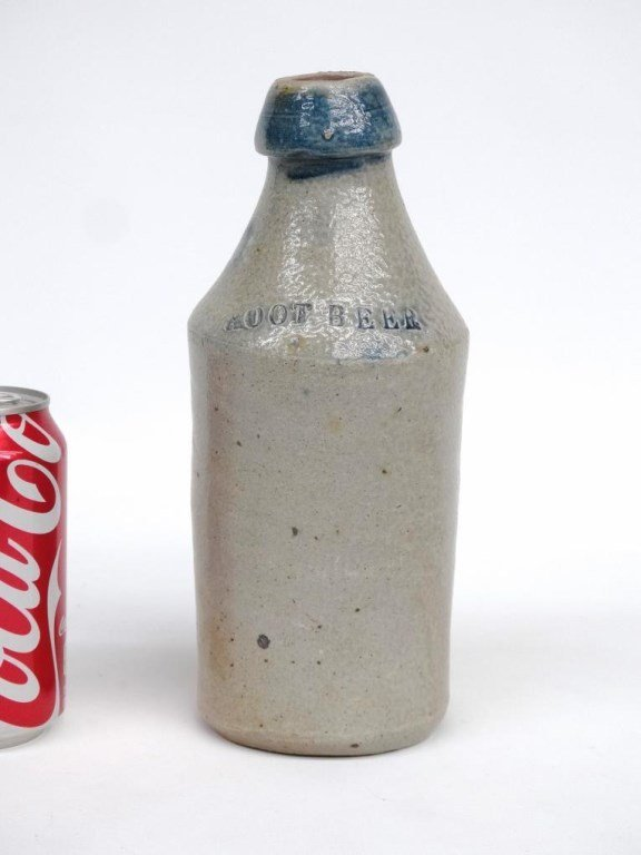 19th c. Stoneware Bottle