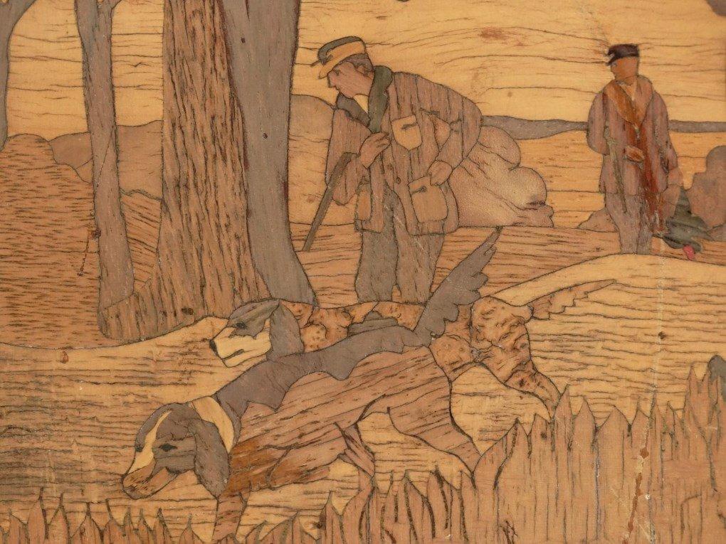 Inlaid Wooden Plaque - 4