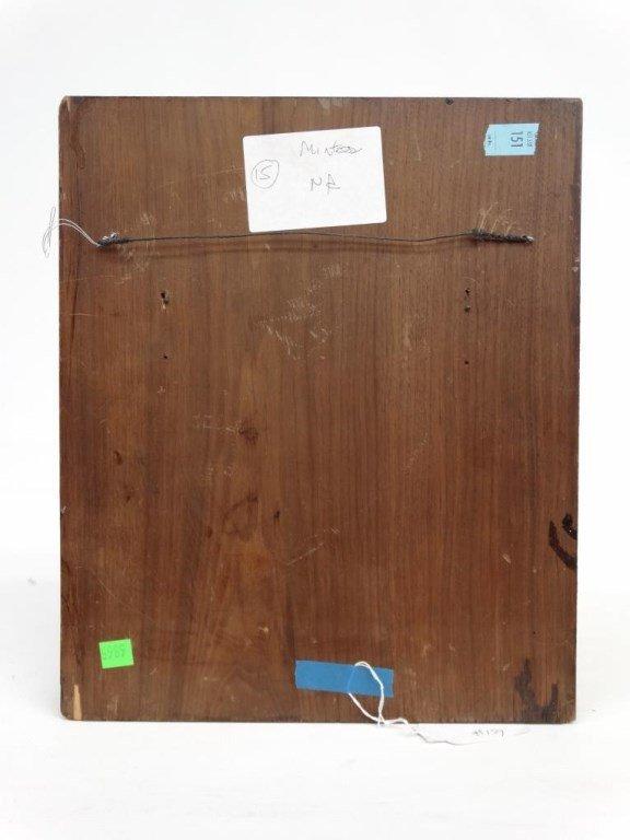 Inlaid Wooden Plaque - 5
