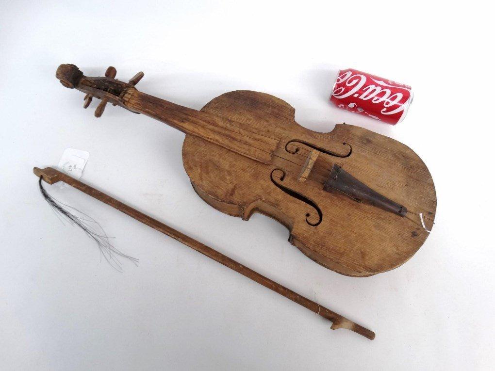 Folk Art Violin