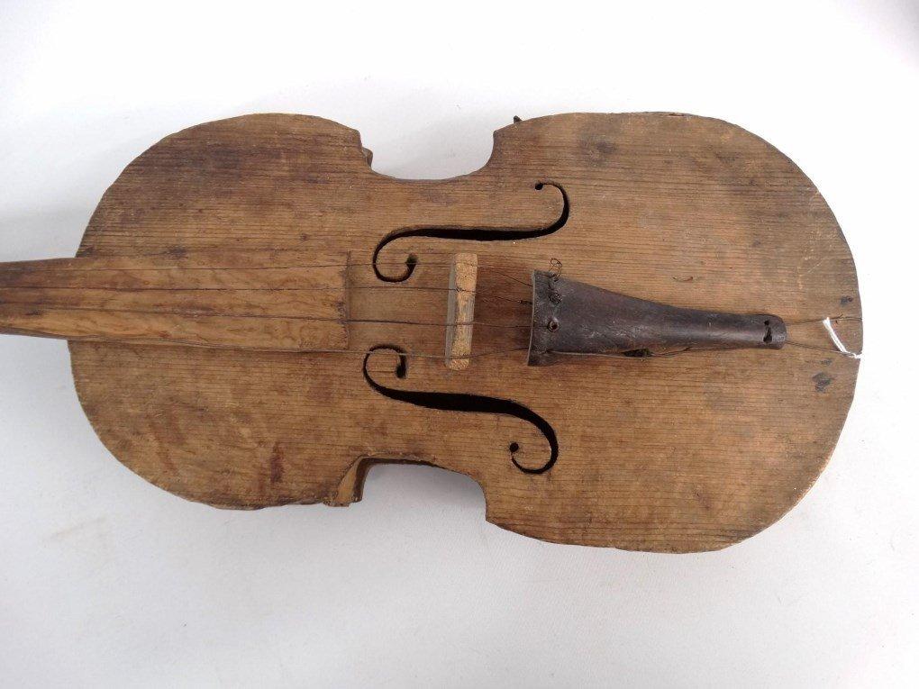 Folk Art Violin - 2