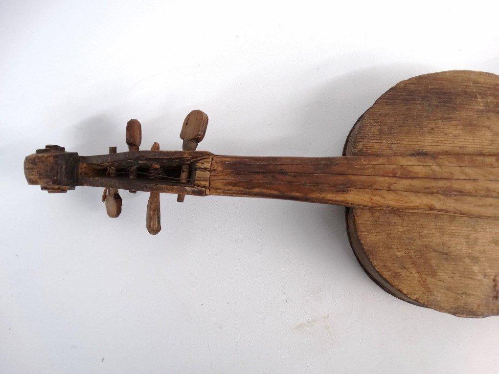 Folk Art Violin - 3