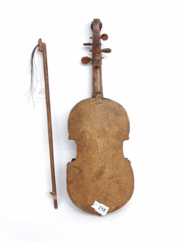 Folk Art Violin - 6
