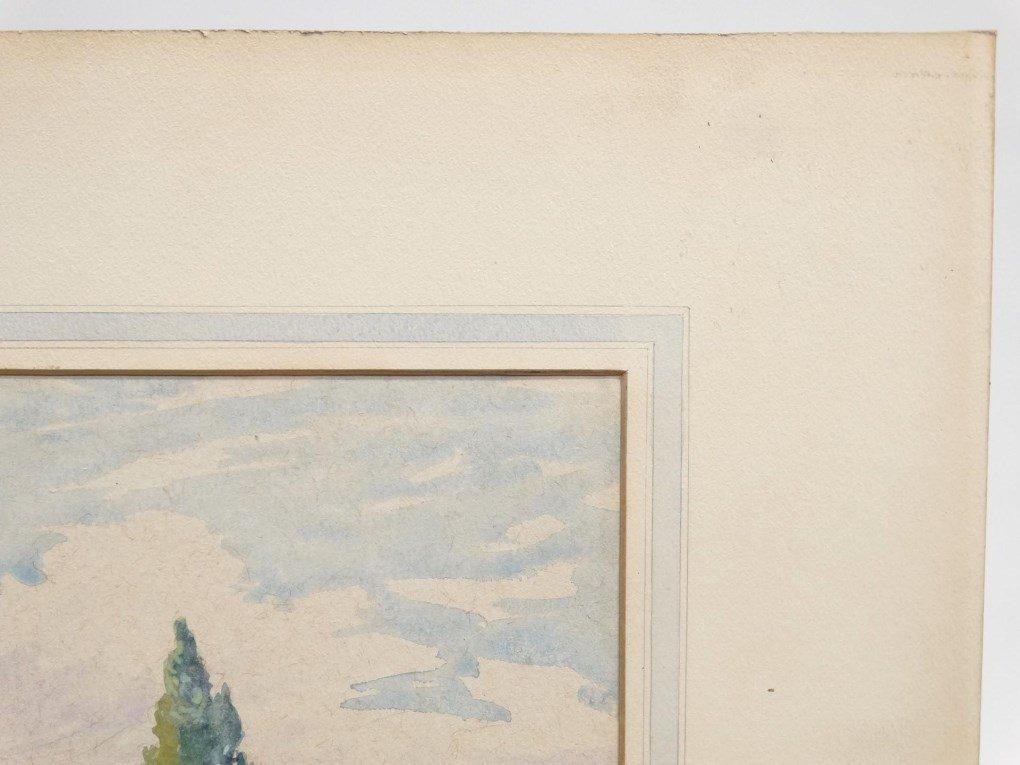 Watercolor, Landscape - 2