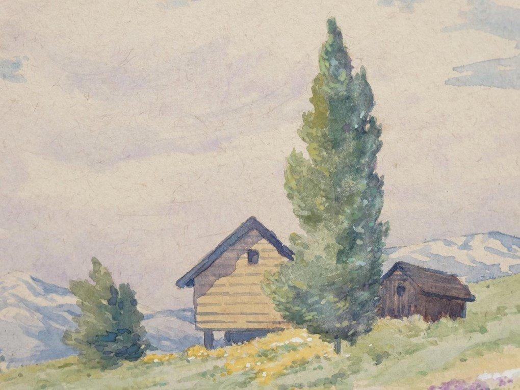Watercolor, Landscape - 3