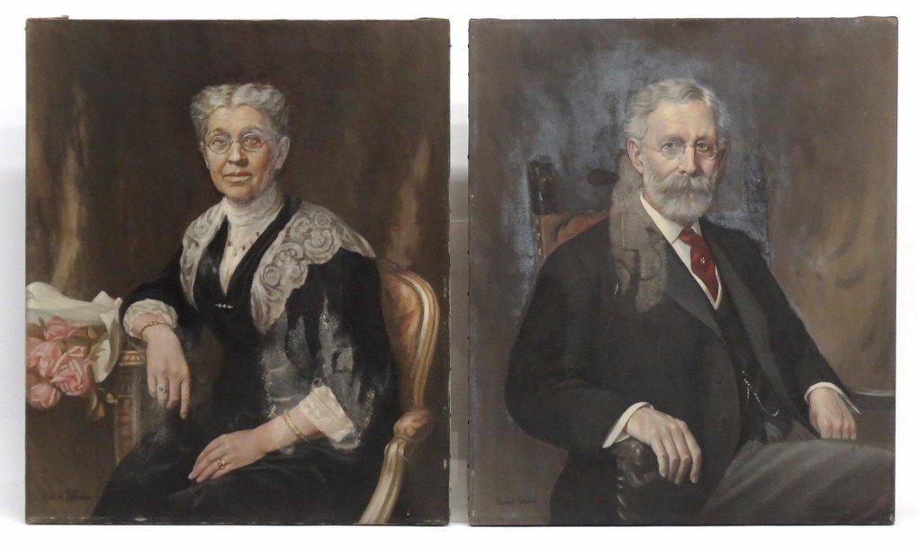 Daniel Strain (Mass. 1847-1925)