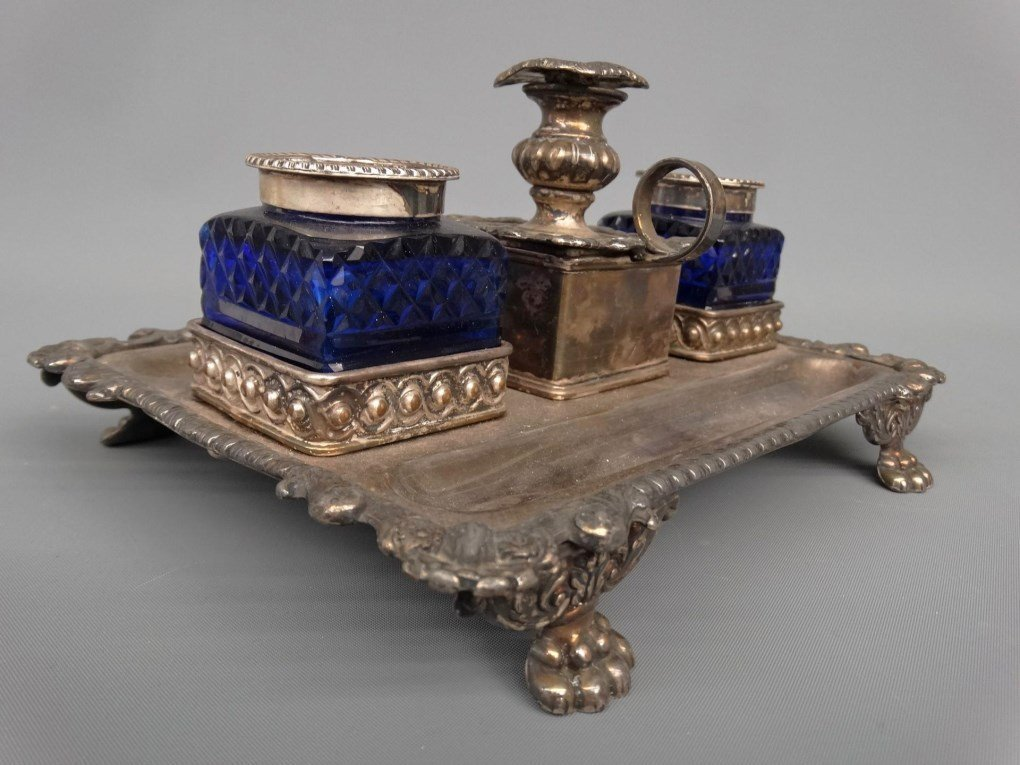 19th c. Inkwell - 3