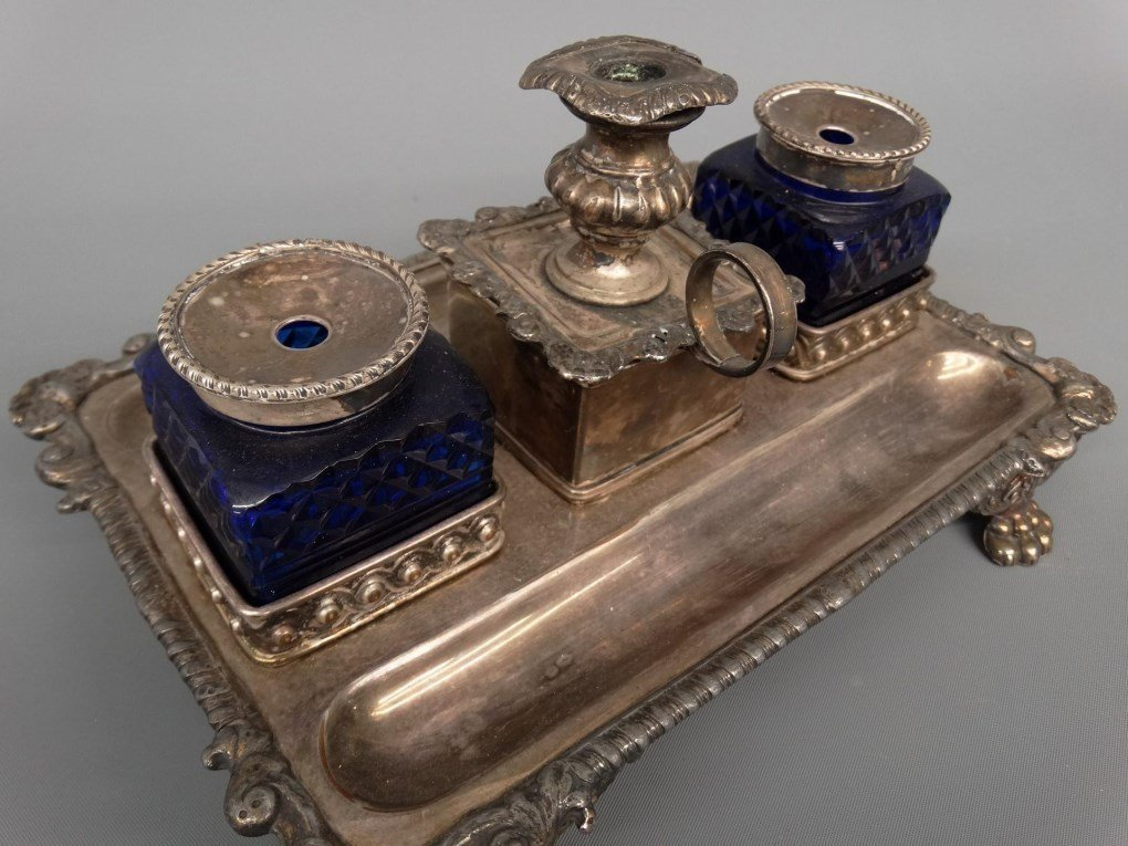 19th c. Inkwell - 4