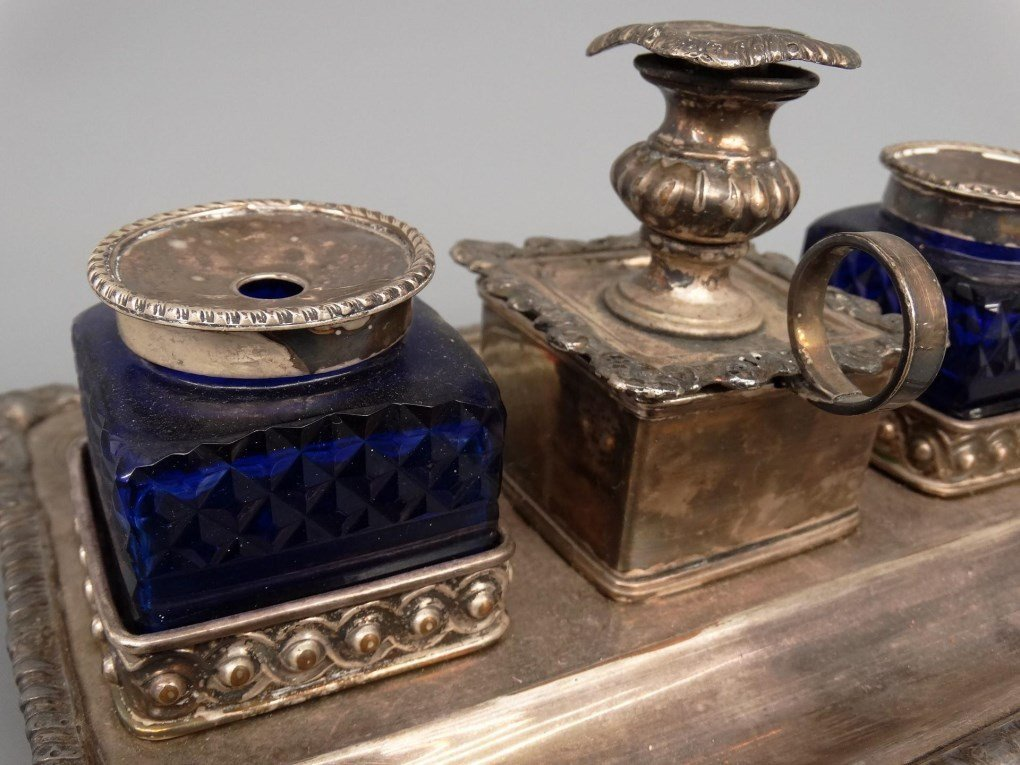 19th c. Inkwell - 5