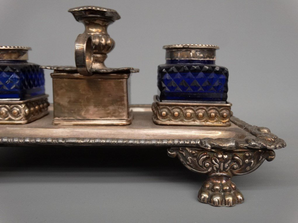 19th c. Inkwell - 6