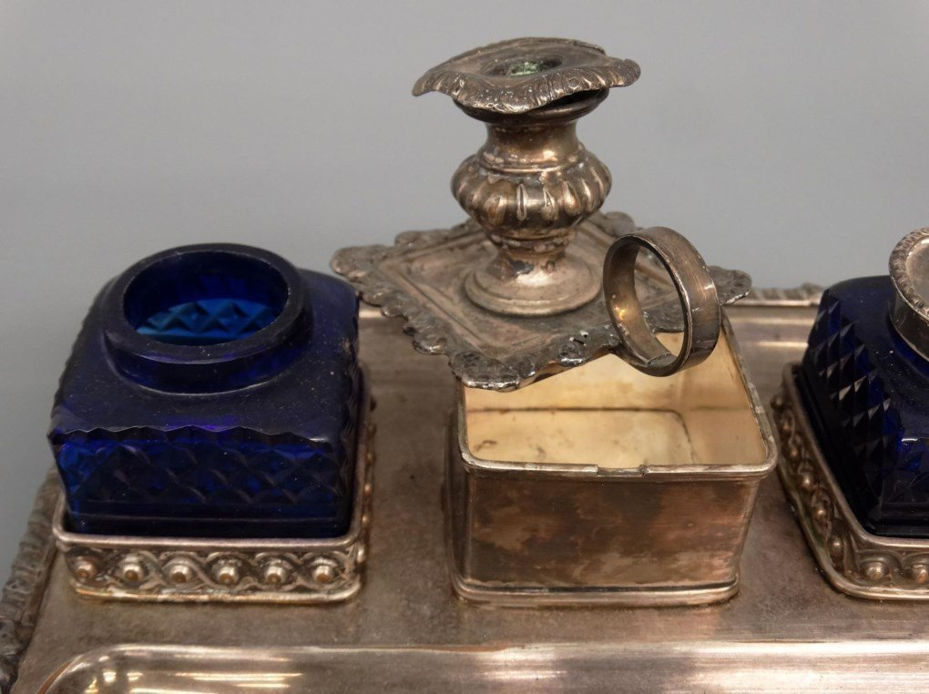 19th c. Inkwell - 8