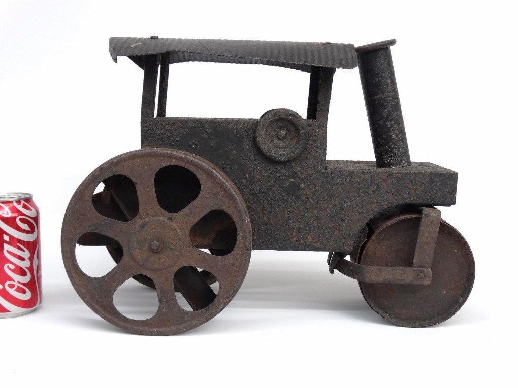 Pressed Steel Toy Steam Roller