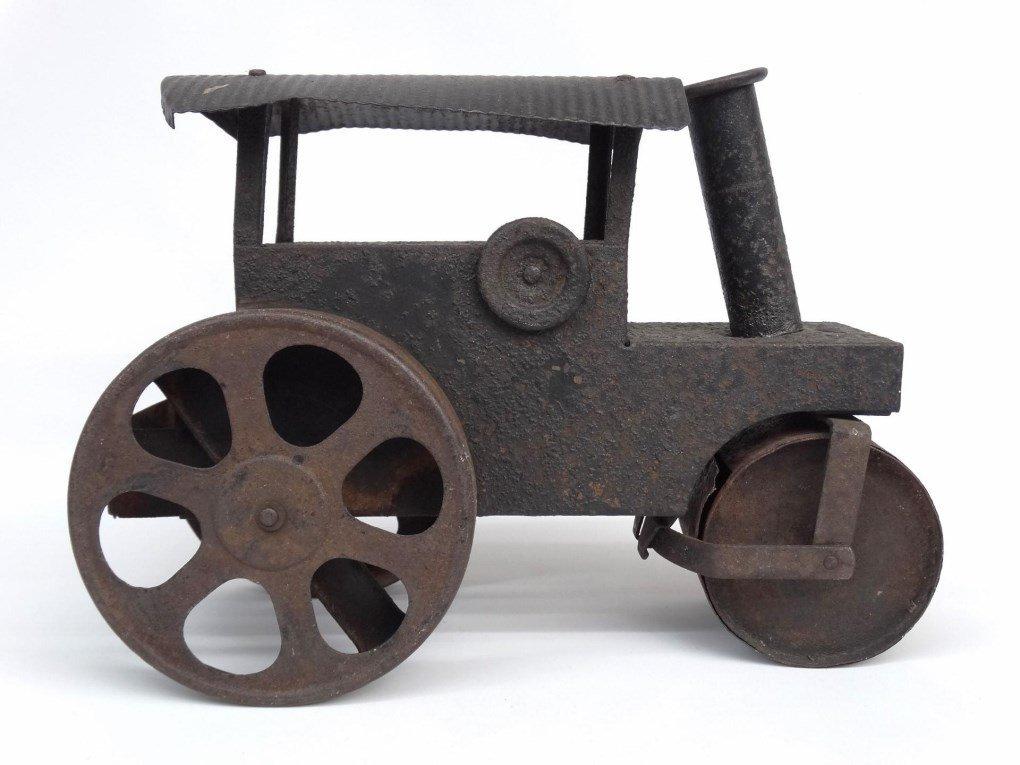 Pressed Steel Toy Steam Roller - 2