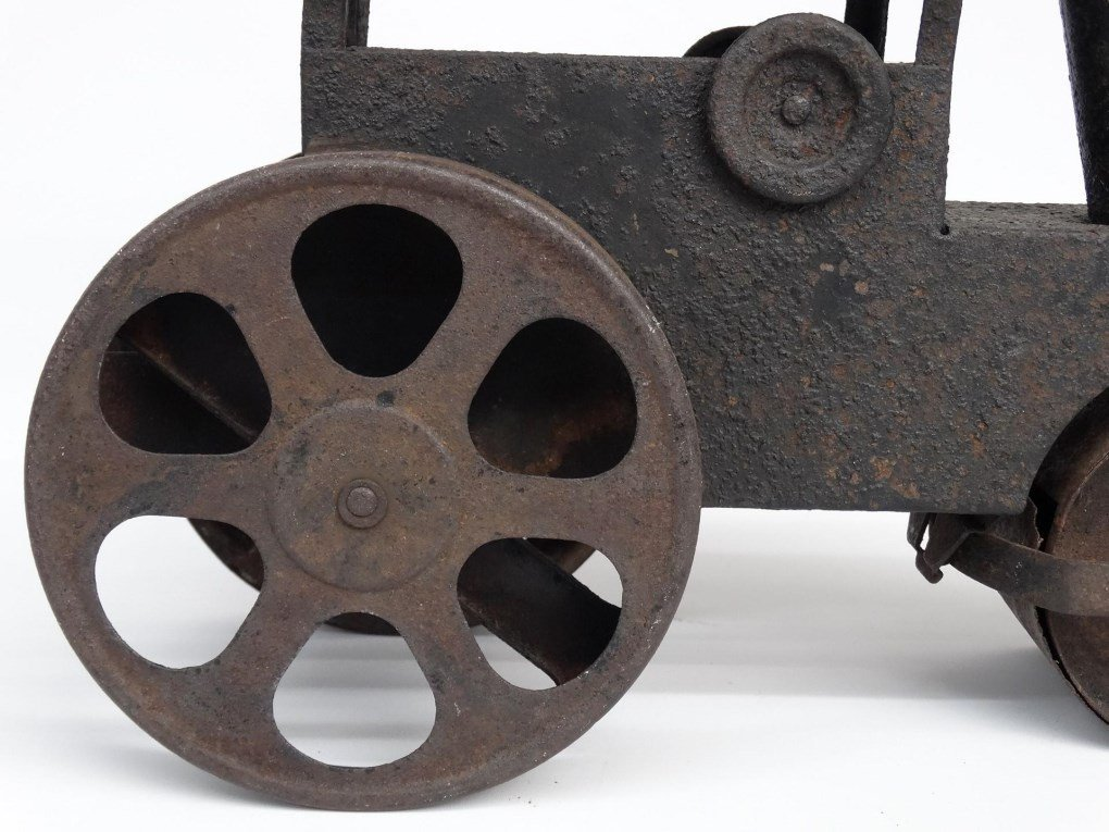 Pressed Steel Toy Steam Roller - 5