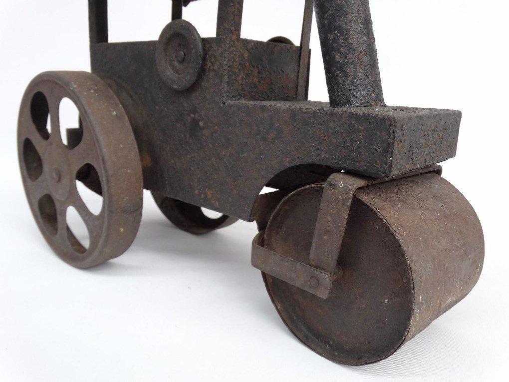 Pressed Steel Toy Steam Roller - 6