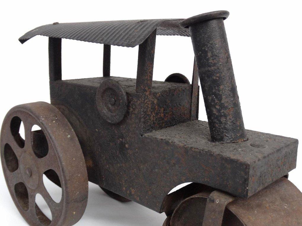 Pressed Steel Toy Steam Roller - 7