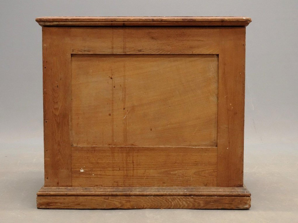 19th c. Oak Sewing Cabinet - 6