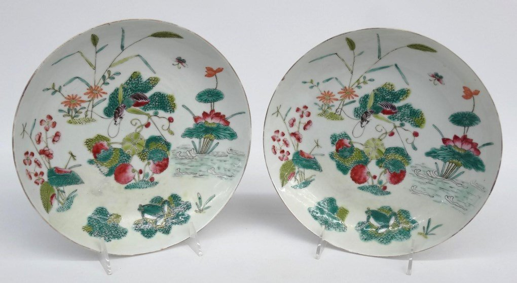 Pair Of Early Chinese Bowls - 2
