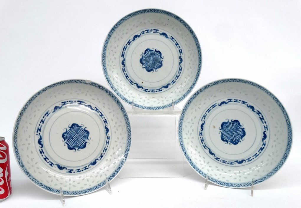 Set Of (3) Chinese Dishes