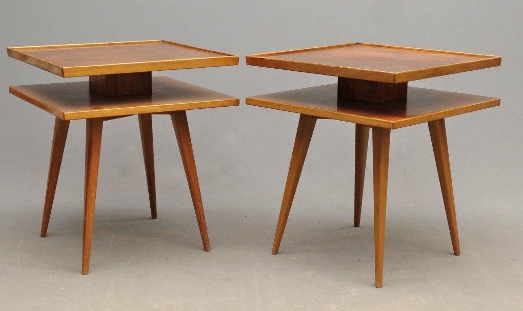 Pair Of Swedish Mid Century Tables