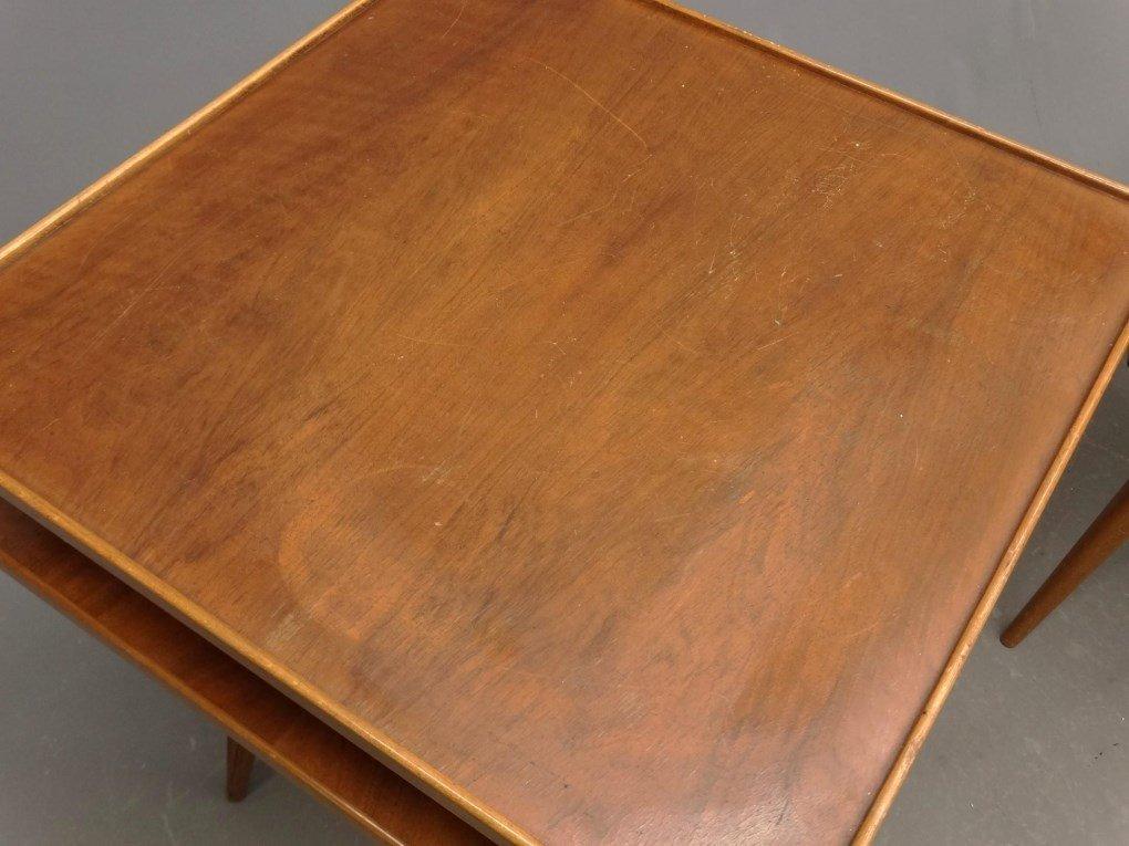 Pair Of Swedish Mid Century Tables - 2