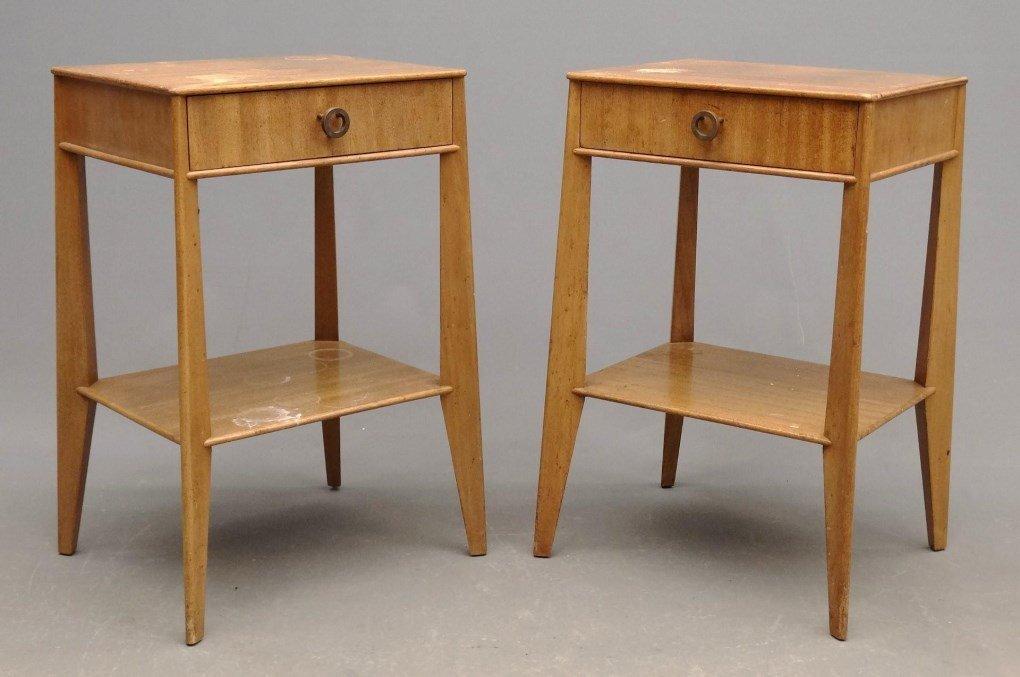 Pair Of Mid Century Night Tables