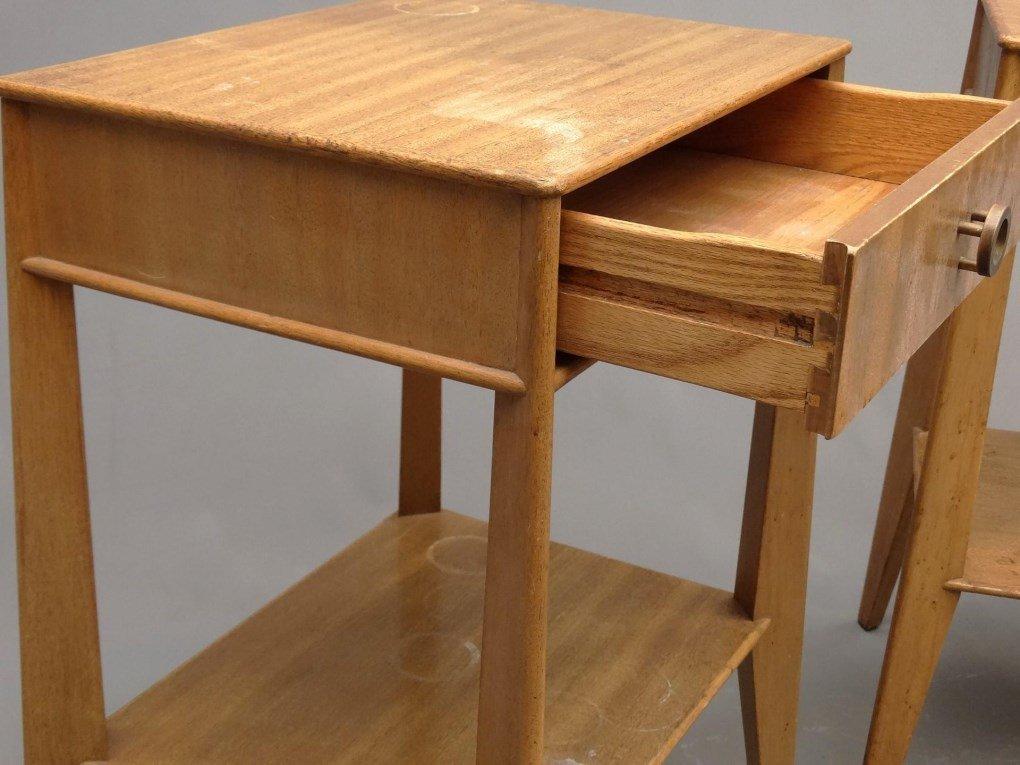 Pair Of Mid Century Night Tables - 4
