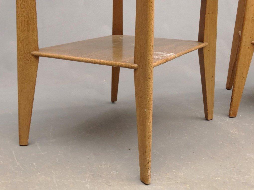 Pair Of Mid Century Night Tables - 5