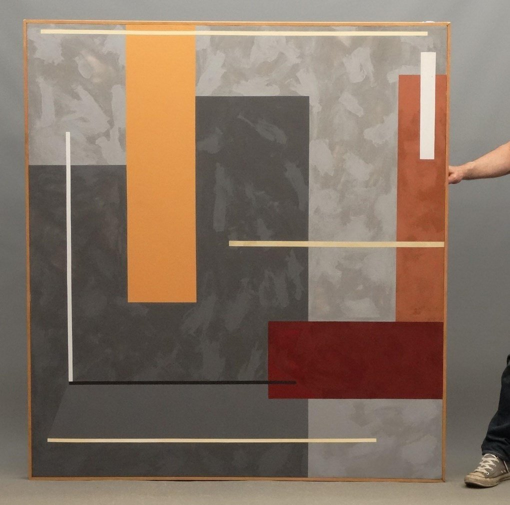 Large Modernist Painting