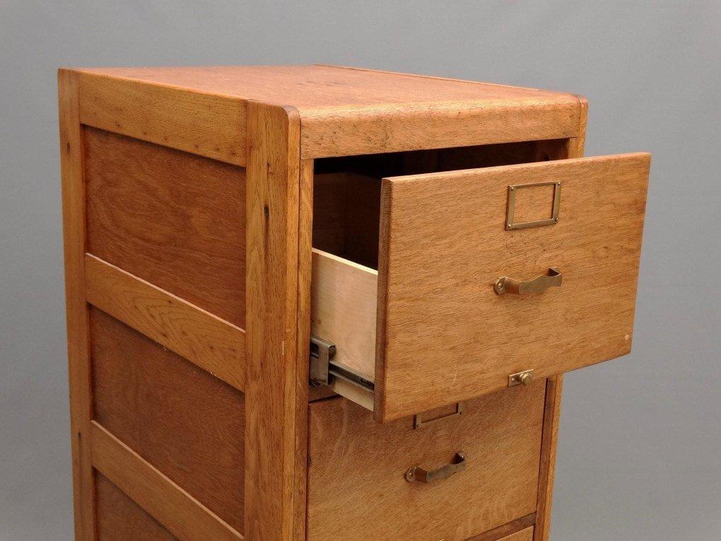 Oak File Cabinet - 2