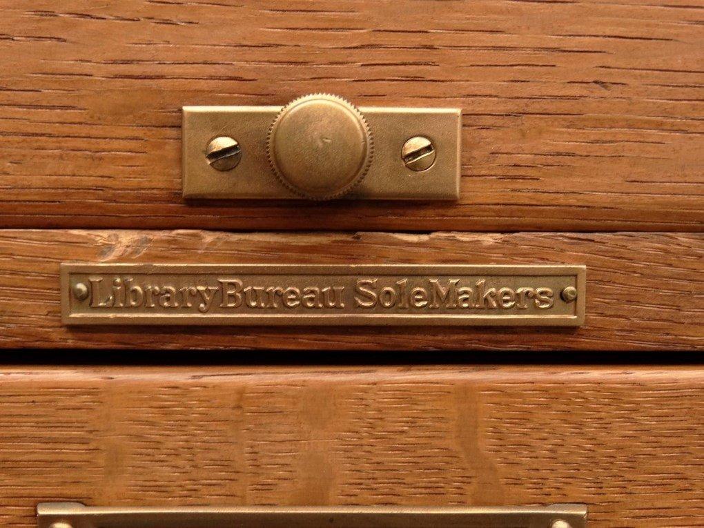 Oak File Cabinet - 4