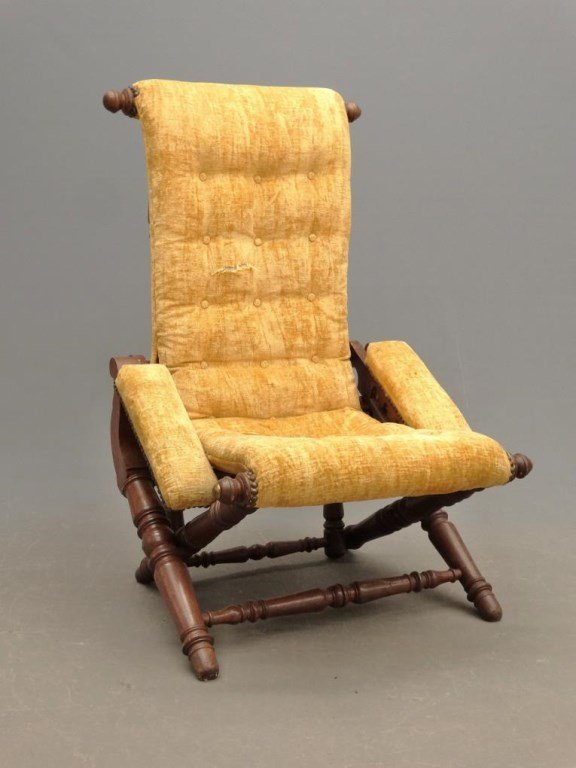 19th c. Hunzinger Chair