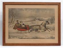 Currier And Ives The RoadWinter