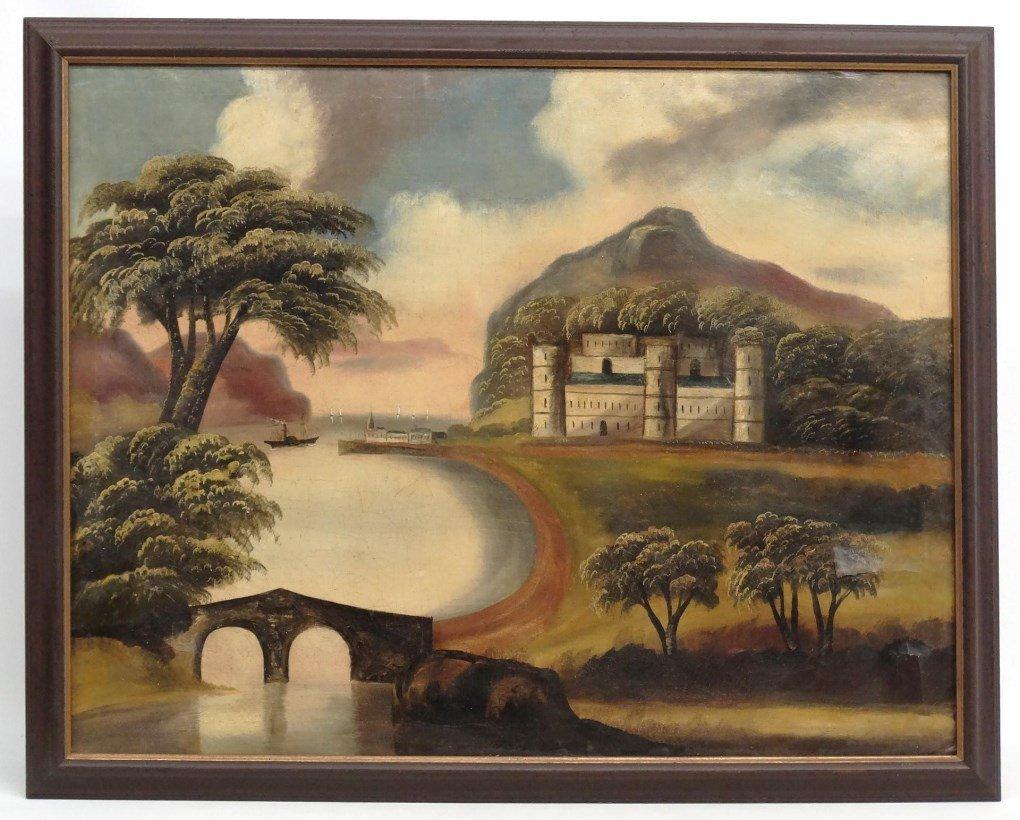 19th c. Hudson River School Landscape