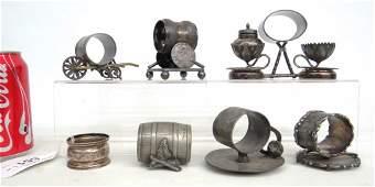Figural Napkin Rings