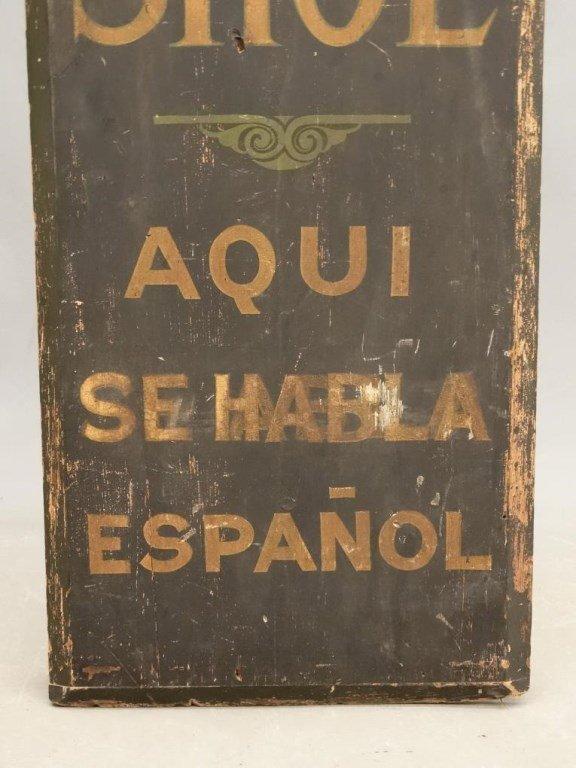 Trade Sign - 5