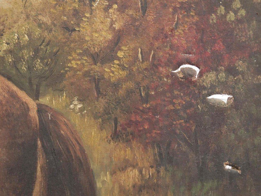 American School, Portrait Of A Horse - 3