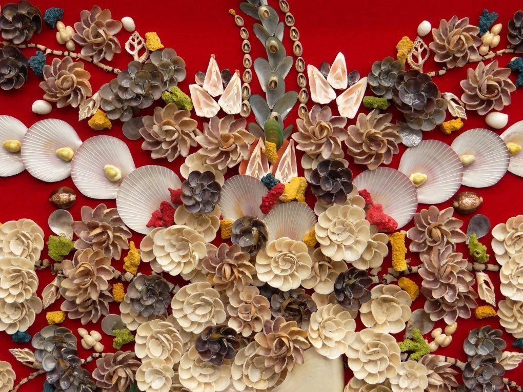 Asian Shell Art - 3