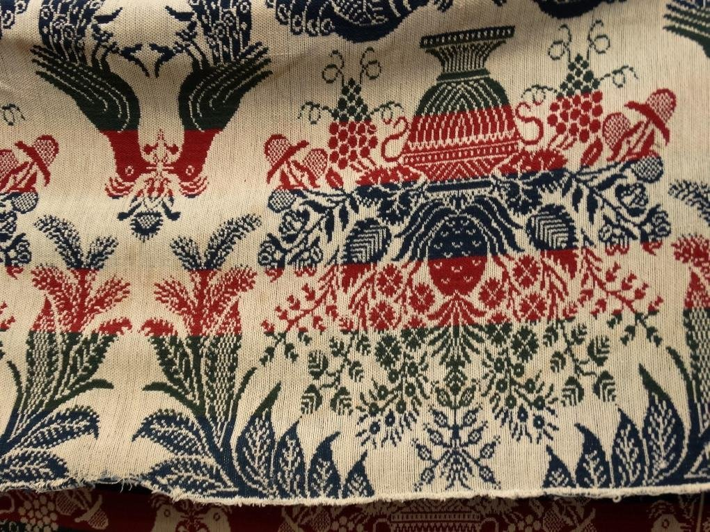 19th c. Coverlet - 3