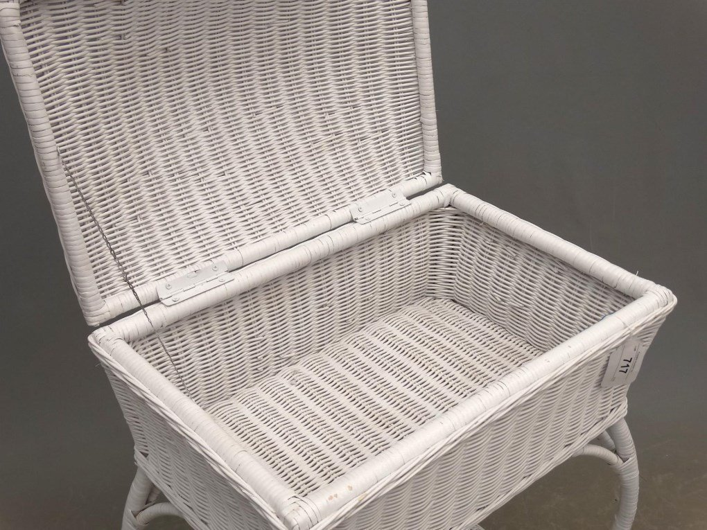 Wicker Sewing Table - 2