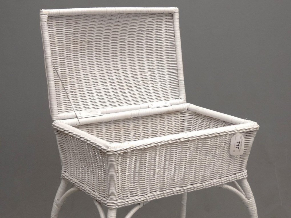 Wicker Sewing Table - 3